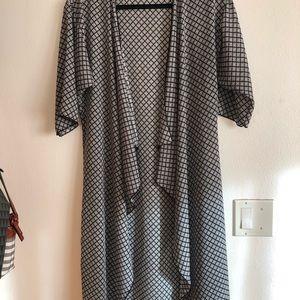 Lularoe Long Kimono
